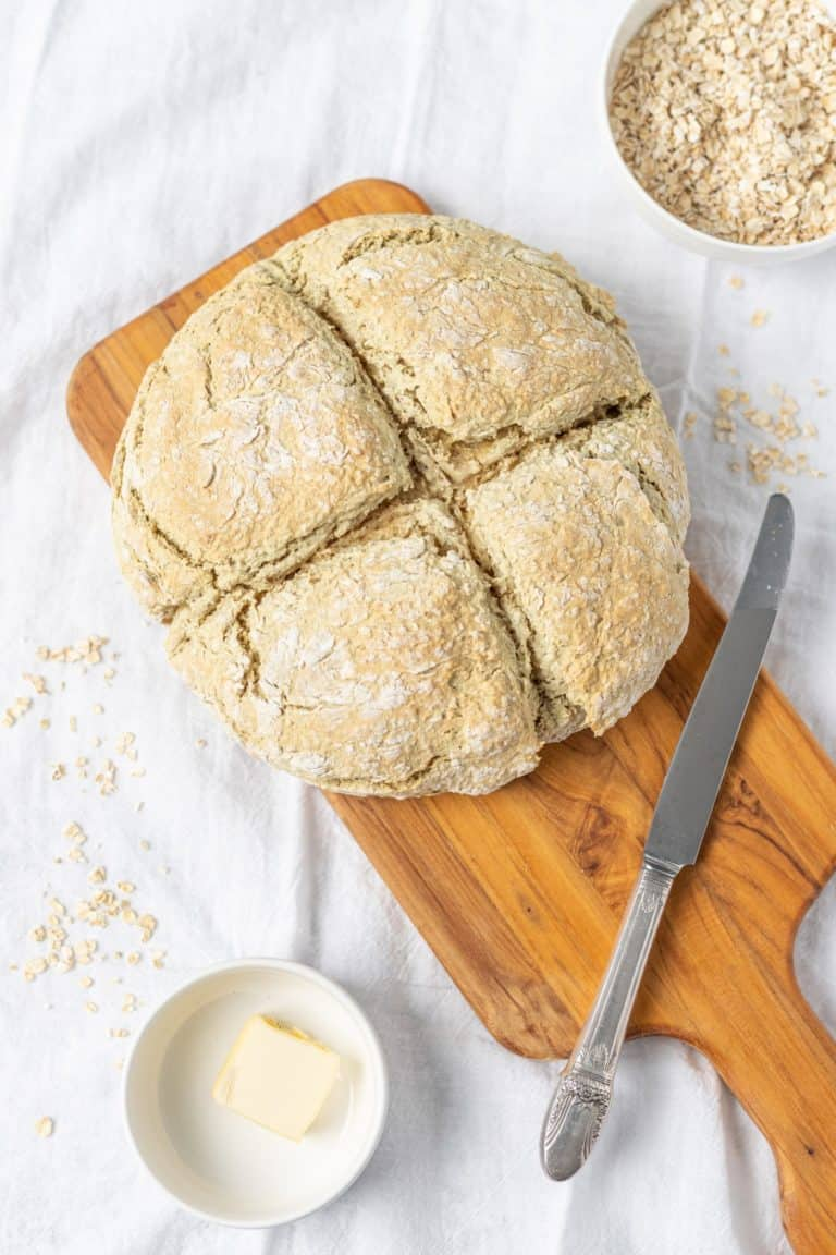 לחם שיבולת שועל אירי