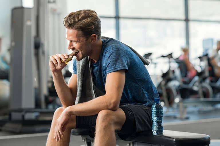 שילוב של פחמימה וחלבון לארוחה מאוזנת אחרי אימון