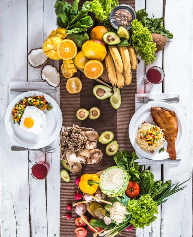 תמונה של פירות וירקות - מה זה דיאטה